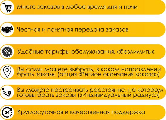 работа в такси Лидер Кемерово