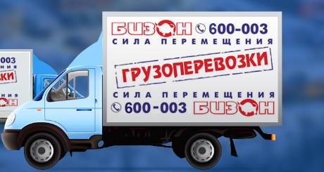 Грузовое такси Бизон в Мурманске