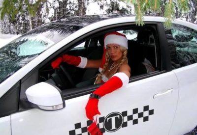 Такси на Новый Год