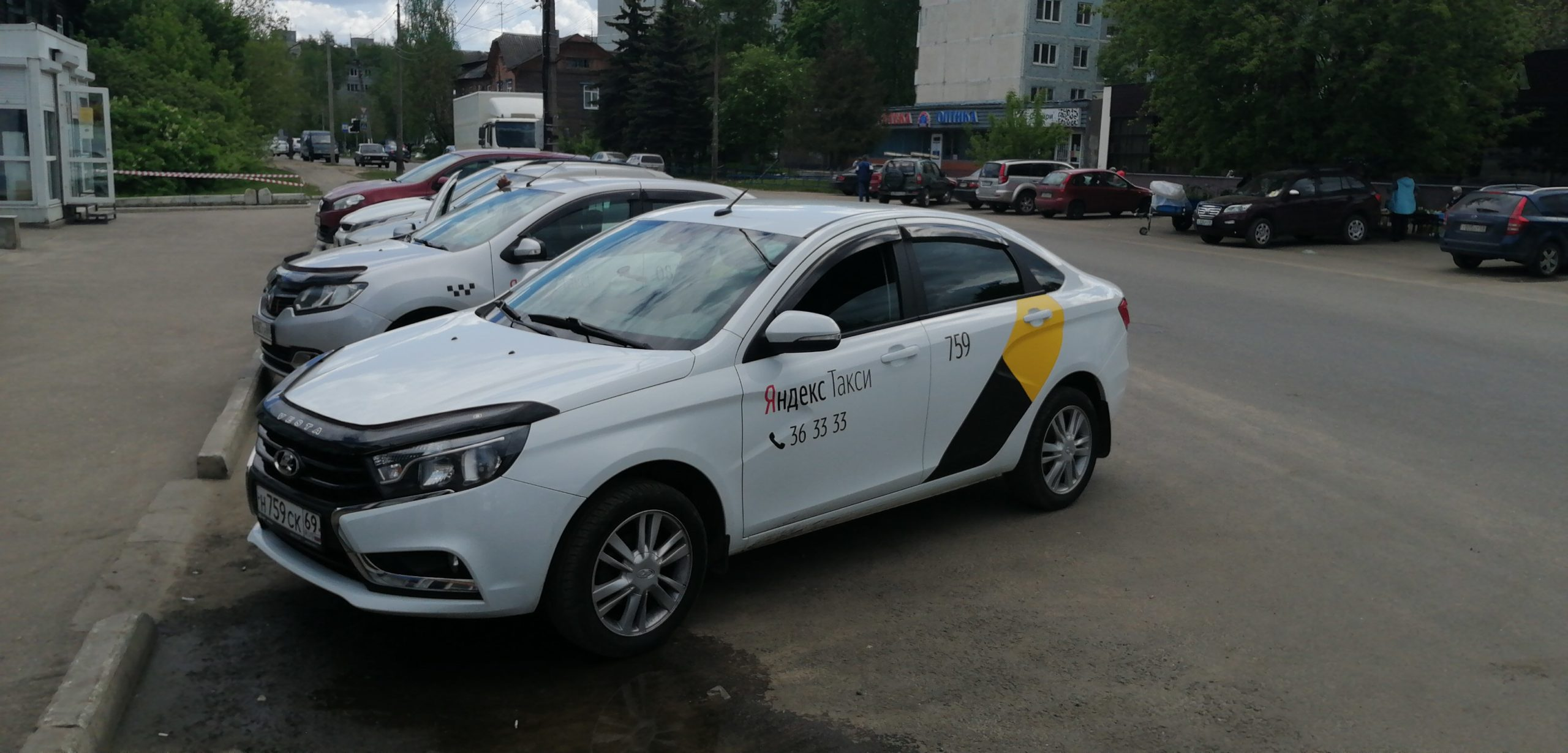 Такси Кучер в Осташкове